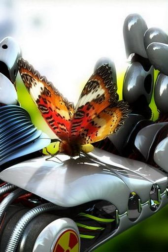 Robot Hand Butterfly Technology