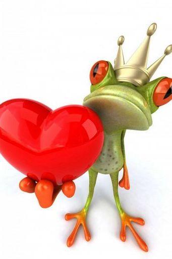 Frog Prince Give Love
