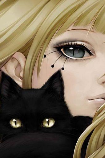 Cat 而女孩