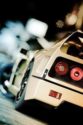 Close Up Ferrari