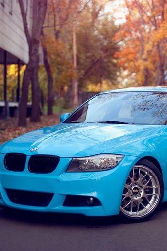BMW M3ブルー