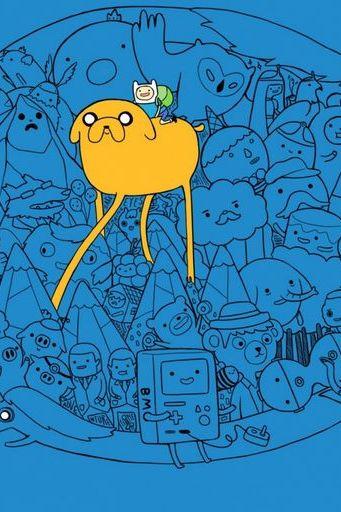 Cartoons Adventure Time 4