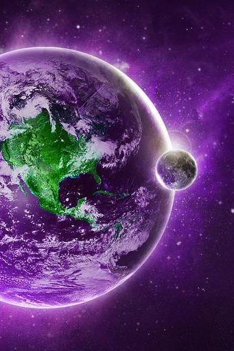 Purple Planet 1