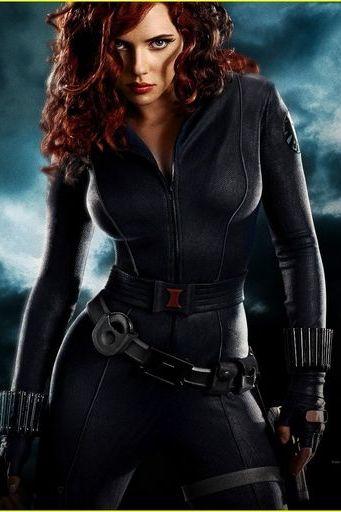 स्कारलेट जोहानसन - काले विधवा - आयरन मैन 2