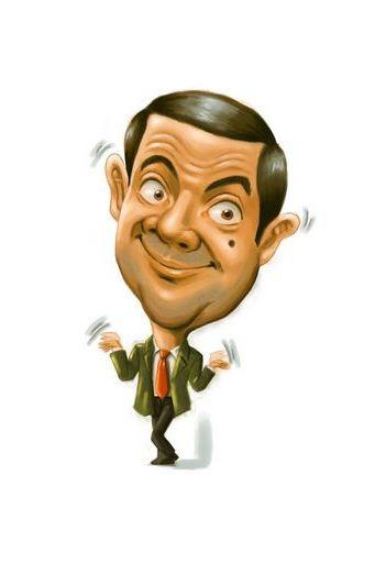 Mr Bean S Caricature Sketch
