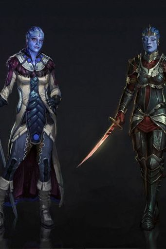 Mass Effect Liara And Samara