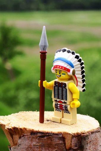 Tribal Cheif Lego