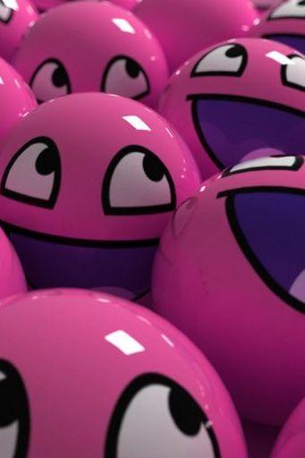 Pink Emo Ball