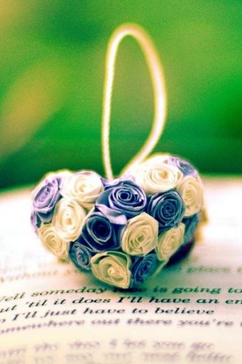 Flower Heart On Love Book