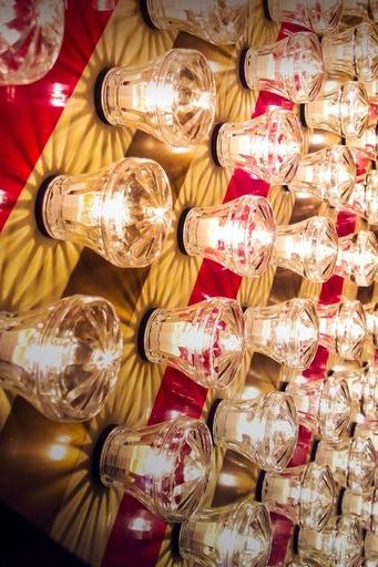 Light Bulb Wall