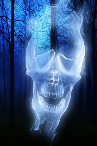 Forest Skull Ghost