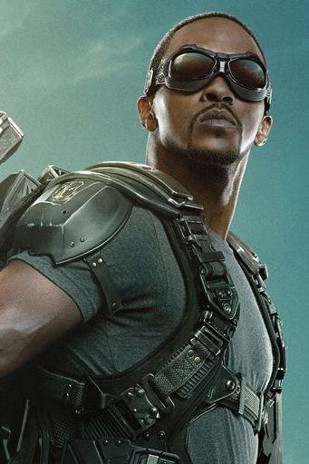 The Falcon Captain America The Winter Soldier
