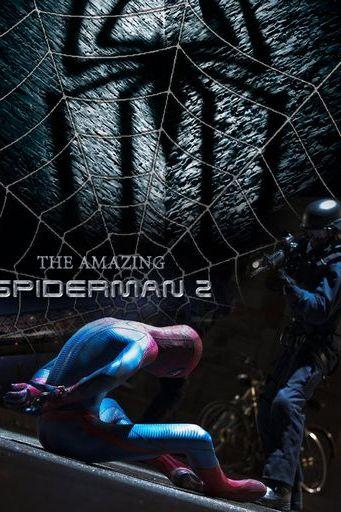আশ্চর্যজনক Spiderman2 পোস্টার ডিসি 97