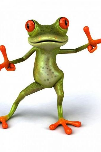 Frog Dance Cute Cool Motion