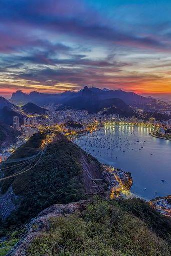 Rio De Janeiro Evening