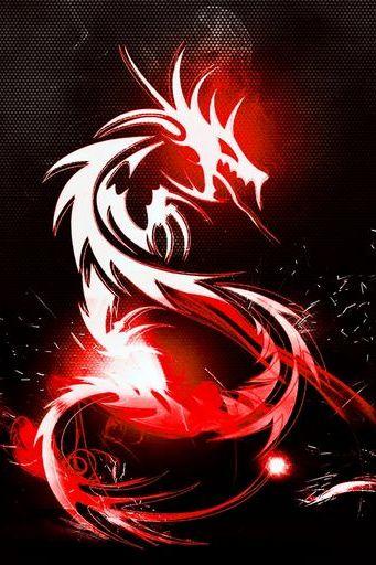 3D вогненний дракон