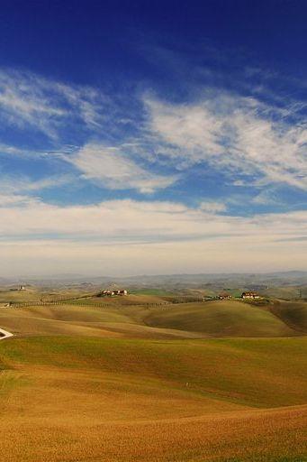 Landskap Tuscany