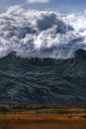 Arjantin'de volkan