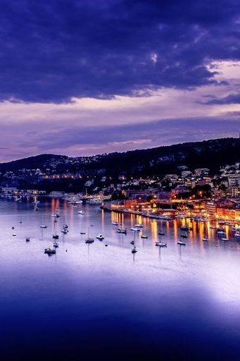 Villefranche Evening