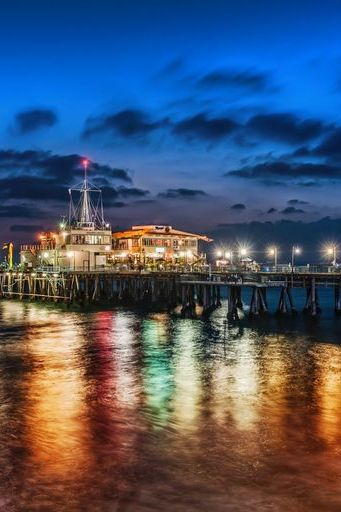 The Pier In Santa