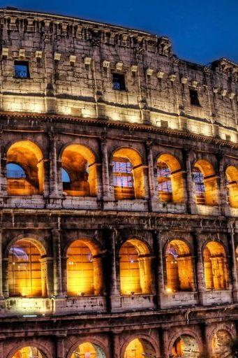 กรุงโรมประเทศอิตาลีโคลอสเซียม