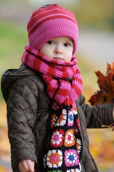 Cute Autumn Baby