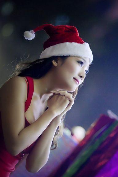 Cute Asian Model