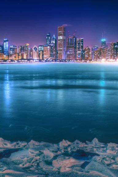 Chicago-City-At-Night