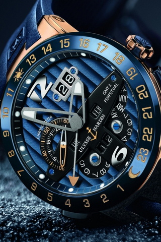Ulysses Nardin Blue
