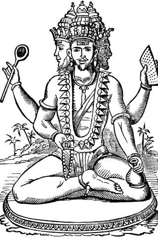 براهما الهندوس الله
