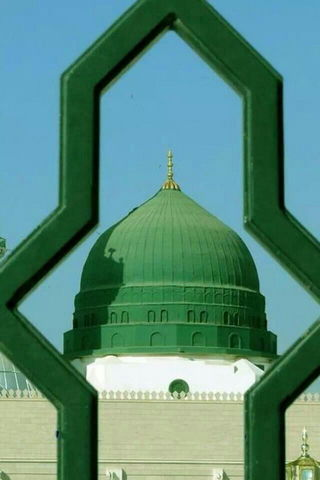 القبة الخضراء المدينة المنورة