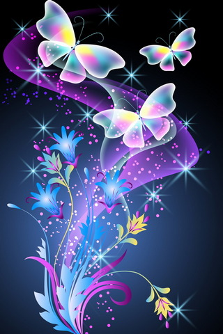 Borboletas florais