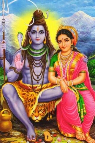 Chúa Shiva Parvati