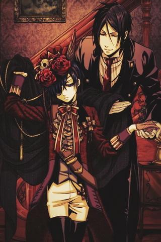 Ciel y Sebastian