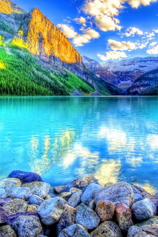पर्वत झील
