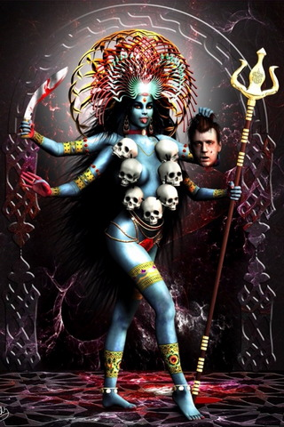 Kali Kali Deusa Hindu