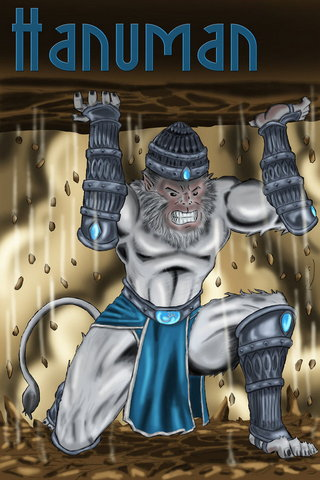 Strong Hanuman