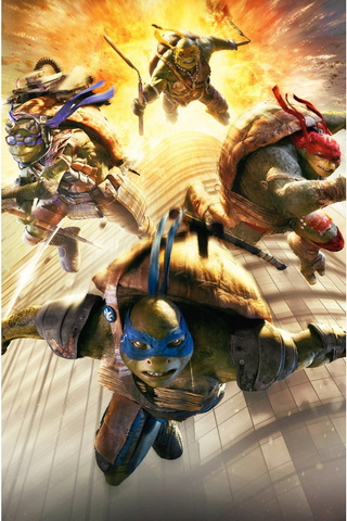Teenage Mutant Ninja Turtles Movie Wide