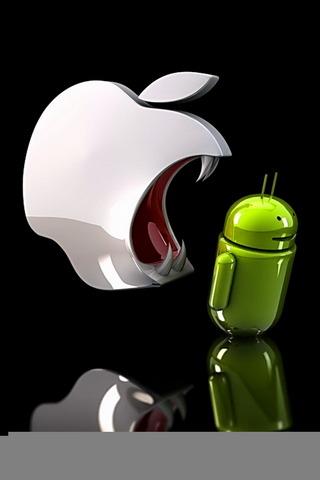 ऐप्पल एंड्रॉइड खाता है