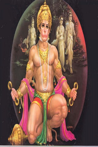 Powerful Hanuman