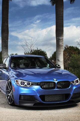 BMW F30 Blue