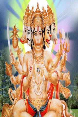 Powerful God Hanuman