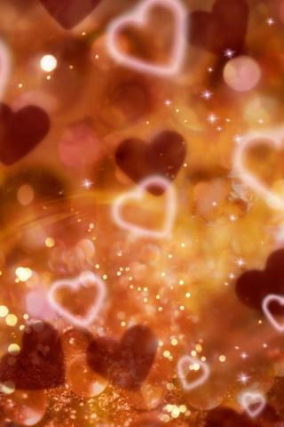 Cahaya Berbentuk Jantung