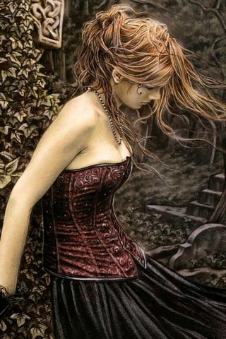 Garota gótica