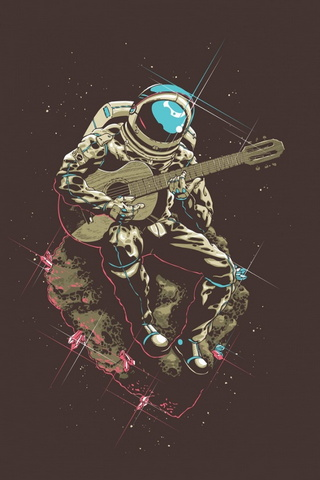 Cool Astronaute