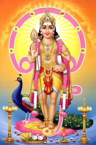 Powerful God Murugan