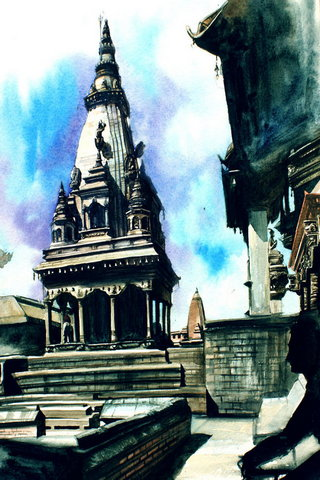 Seni Kuil Hindu