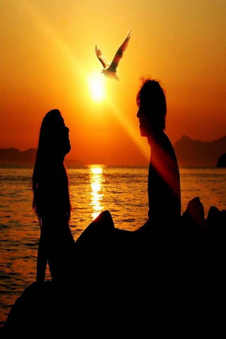 Liebe Romantik Stimmung