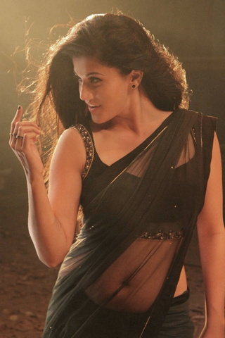Cute Taapsee Saree