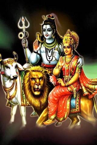 Shiva & His Wife